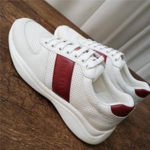 prada官网中文官方网普拉达代购新款春夏透节舒适网布男鞋运动鞋