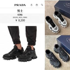 普拉达官网正品代购Prada Cloudbust Thunder 运动鞋2EG293