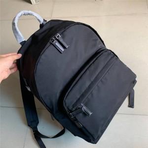 prada香港官网价格普拉达原单男士双肩包尼龙布背包2VZ066