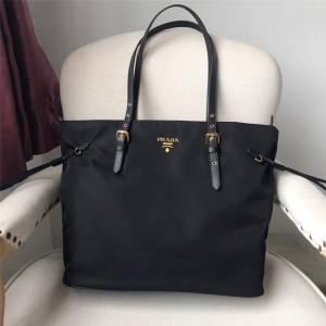 PRADA正品普拉达官网女包新款尼龙布托特包购物袋1BG292