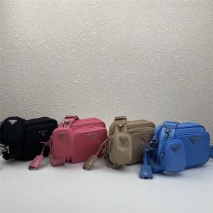 prada包包价格普拉达官网新款尼龙三合一相机包1BH017