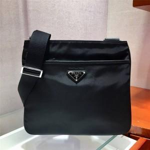PRADA普拉达官网奢侈品包包品牌经典男包尼龙邮差包2VH053
